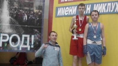 Королёв Владислав победитель межрегионального турнира по боксу